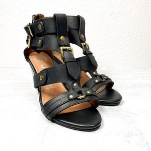 Jeffrey Campbell Strappy Black Sandals - 8